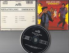 Kool & The Gang CD EMERGENCY (c)  BLACK FACE / NO TARGET