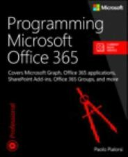 Developer Reference: Programming Microsoft Office 365 Int'l Edition