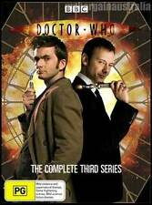 DOCTOR WHO=BBC=Complete Series 3=NEW DVD R4=DR (Three)