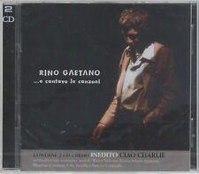 RINO GAETANO...E CANTAVO LE CANZONI 2 CD + BOOKLET COCCIANTE OXA  SIGILLATO!!!
