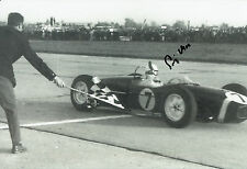 Stirling Moss Hand Signed Formula 1 12x8 Photo 5.