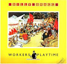 LP 6437  BILLY BRAGG  WORKERS PLAYTIME
