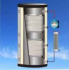 Kombispeicher Schichtenspeicher mit Frischwasserstation Pufferspeicher Kollektor