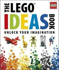 The LEGO Ideas Book Unlock Your Imagination {Brand New w/ Free Shipping}**