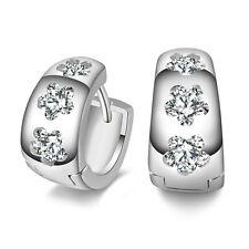 New Women Fashion 925 Sterling Silver Hoop Piercing Ear Earring Studs Jewelry dh