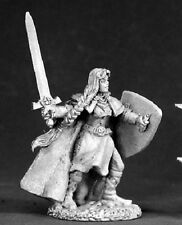Ava Female Templar Reaper Miniatures Dark Heaven Legends Paladin Cleric Knight