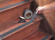 Anti Slip Non Skid Tape High Grip Self Adhesive Black Stripe Safety Flooring