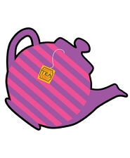 MAD HATTERS TEA PARTY MINI TEAPOT CUTOUT Alice in Wonderland Decoration 190562