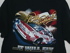 Dale Earnhardt T-Shirt XL It Will Fly Patriotic Car USA Flag Eagle