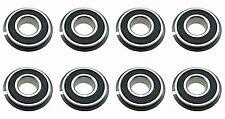 Eight (8) Go Kart / Lawnmower Bearings w/Snap Ring 99502H NR 5/8 x 1-3/8 x .433