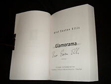 Bret Easton Ellis signed Glamorama 16th printing softcover book