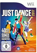 Just Dance 2017 (Nintendo Wii, 2016, DVD-Box)