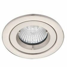 Alto Downlight Fire Rated Chrome Fixed Spot Light Fixture MR16 GX5.3 LED AL5180