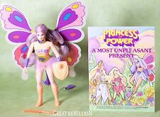 She-ra Princess of Power FLUTTERINA action figure complete 1980's Mattel MOTU