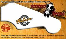 Gibson Custom Shop guitar or bass Headstock Waterslide Decal