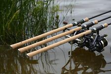 SET OF 3 FREE SPIRIT CTX 12FT 3.25LB FULL CORK 40MM RUNG CARP RODS