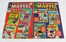 Marvel Tales #7 & #8 Spider-Man,Thor,Human Torch SILVER AGE MARVEL COMICS 1967