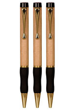 Christmas/Gift-Personalized Engraved Set of 3 Maple wood Pen-FREE ENGRAVING
