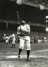 BABE RUTH NEW YORK YANKEE ICON CLASSIC FOLLOW THROUGH SWING SULTAN OF SWAT