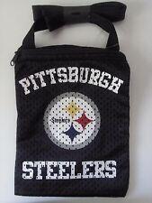Pittsburgh Steelers Black Soft Mesh Bag NIP NFL Bell Roethlisberger Brown