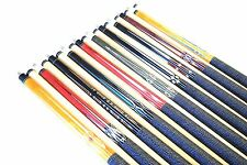 "SET OF 10 POOL CUES New 58"" Canadian Maple Billiard Pool Cue Stick #4 FREE SHIP"