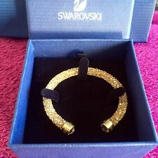 Genuine Swarovski Crystaldust Golden Crystal Bracelet New Size Small