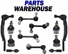 12 Piece Suspension Kit For Chevy Trailblazer SSR GMC Envoy Buick Rainier Isuzu