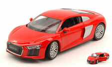 Audi R8 V10 2016 Red 1:24 Model 24065R WELLY