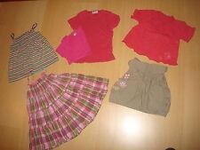Lot de vêtements été pour fille 4 ans (robe, jupe, T-shirts)