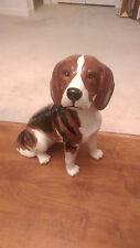 Large Vintage Beswick English Ceramic Beagle Dog Figurine #2300 Fireside Model