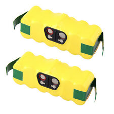 2X 14.4V 3500mAh NiMH Vacuum Battery for iRobot Roomba 500 550 560 570 610 780