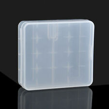 Hot Portable Hard Plastic Battery Case Holder Storage Box 4x18650 Batteries