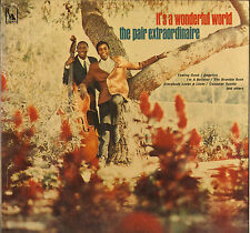 "THE PAIR EXTRAORDINAIRE ""IT'S A WONDERFUL WORLD"" SOUL VOCAL JAZZ LP LIBERTY 3504"