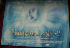 Cinema Poster: WHAT THE BLEEP DO WE KNOW? 2005 (Quad) Marlee Matlin