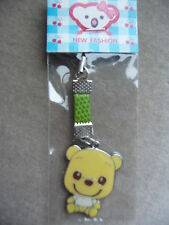 TEDDY BEAR MOBILE PHONE/PURSE CHARM BRAND NEW