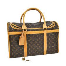 AUTHENTIC LOUIS VUITTON SAC CHIEN 50 DOG CARRIER HAND BAG MONOGRAM M42021 S04776