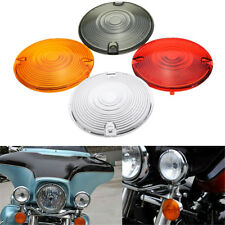 Turn Signal Indicator Light Lens For Harley Davidson Road King Glide