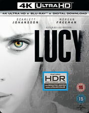 Lucy (4K Ultra HD + Blu-ray + Digital Download (Red Tag)) [UHD]