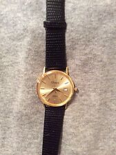 New 14k Solid Gold Men's Geneve Watch