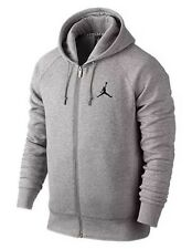 NWT Nike Jordan Men's Jumpman XLARGE Full-Zip Hoodie Jacket Grey 688995-063