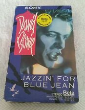 David Bowie Jazzin' For Blue Jean Beta Hi-fi Max Tape Pre-owned Sony Un-Tested