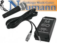 Micrófono Dinámico para estudio- y aplicaciones de directo