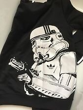 Adidas Originals Star Wars Stormtrooper Track Top Hoody Jacket Size Large L.