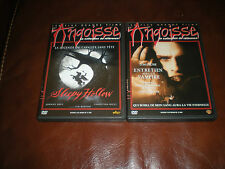 LOT 2 DVD PLUS GRANDS FILMS D'ANGOISSE : SLEEPY HOLLOW + ENTRETIEN AVEC VAMPIRE