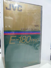 VINTAGE JVC E-180   PRO VHS  VIDEO TAPE NEW