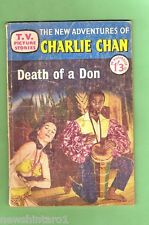 #D92.  1958 TV PICTURE STORIES COMIC - CHARLIE CHAN