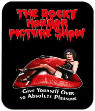 "ROCKY HORROR PICTURE SHOW MOUSE PAD 1/4"" RETRO HORROR MOVIE MOUSEPAD"