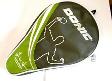 Donic Round Cover Waldner TableTennis racket Bat Ping Pong Wallet Case Green
