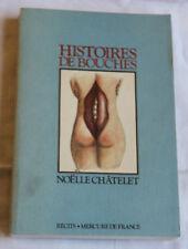 1986 Histoires de Bouches Châtelet Nouvelles sur la nourriture