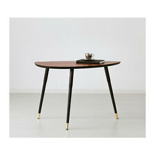 Designer LÖVBACKEN côté café table de chevet, brun moyen, 77x39 cm, forme unique